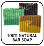 100% Natural Bar Soap