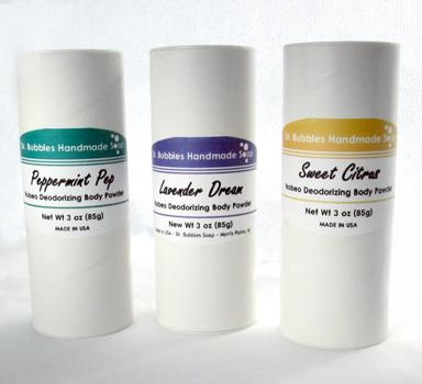 Nobeo Deodorizing Body Powder